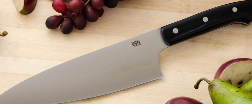 Bark River Knives: 8-inch Chef's Knife- CPM 154