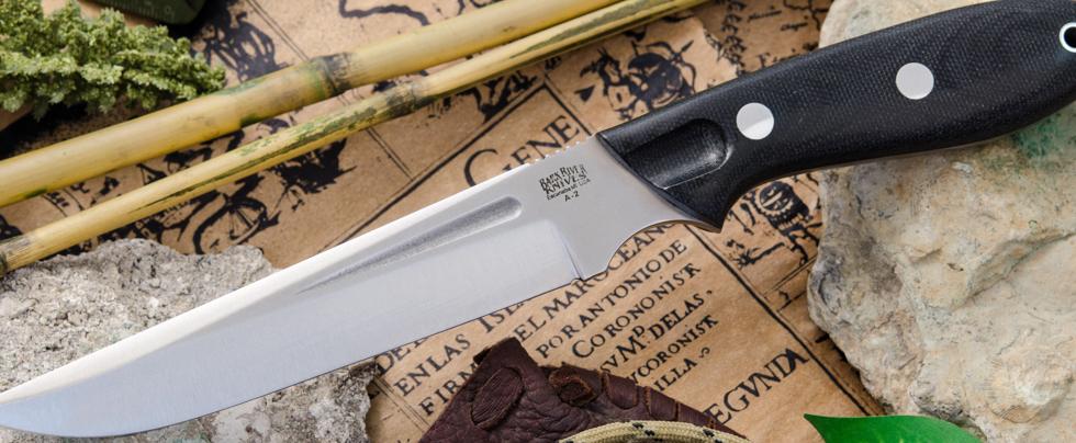 Bark River Knives: Adventurer Thistle
