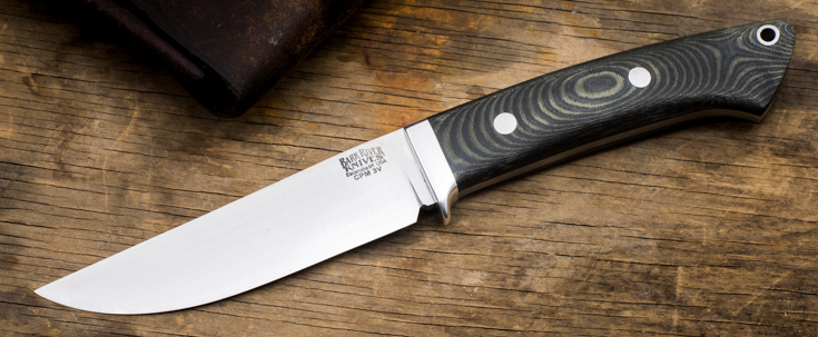 Bark River Knives: Classic Clip-Point Hunter