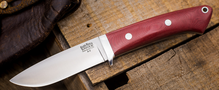 Bark River Knives: Classic Drop Point Hunter