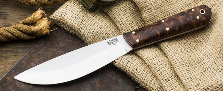 Bark River Knives: Hudson Bay Trade Knife