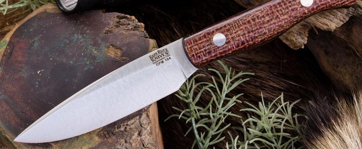 Bark River Knives: Kalahari Thorn