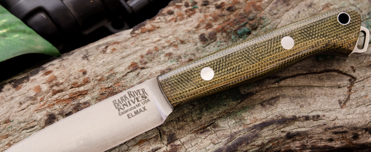 Bark River Knives: Little Creek - Elmax
