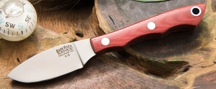 Bark River Knives: Micro Canadian - A2