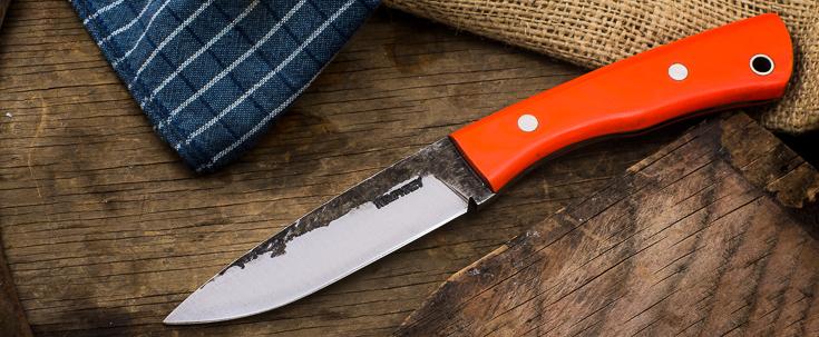 Lon Humphrey Custom Knives - Sterling - Micarta