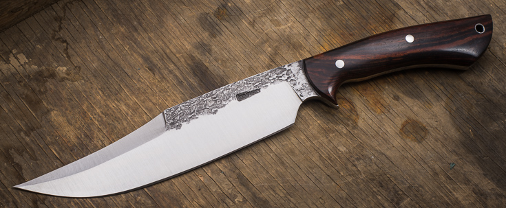 Lon Humphrey Custom Knives - Gunfighter Bowie