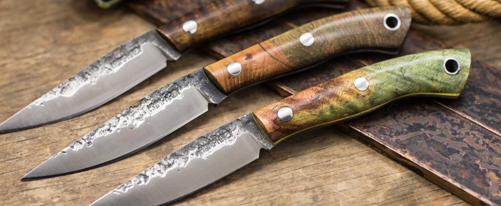 Lon Humphrey Knives: Bird & Trout