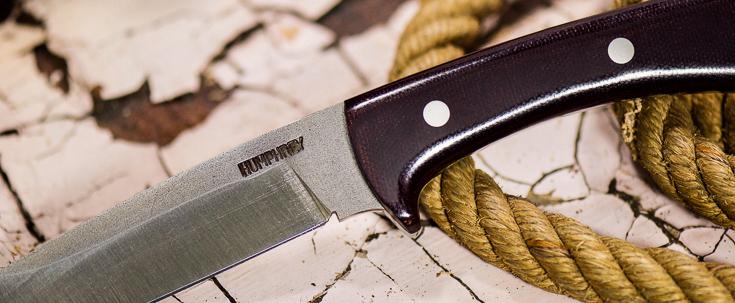 Lon Humphrey Custom Knives - Scout - Micarta