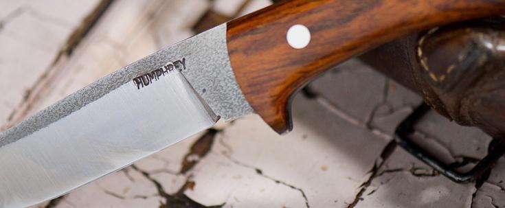 Lon Humphrey Custom Knives - Scout - Cocobolo