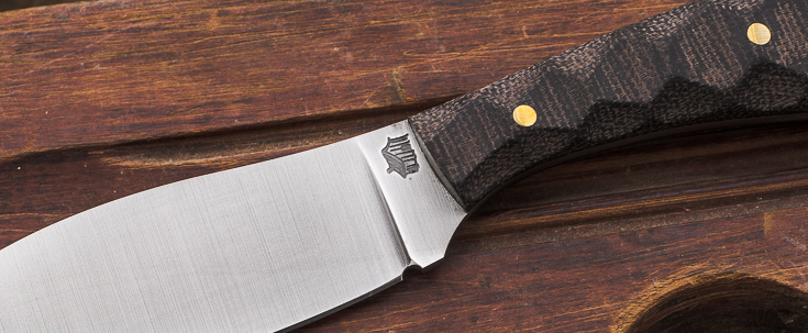 L.T. Wright Knives: Small Northern Hunter
