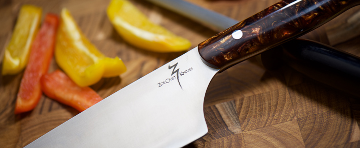 Zoe Crist Knives - Professional Chef's Knife